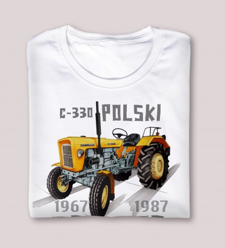 Koszulka Ursus C-330 na nikiniki.pl | Legendy polskiej wsi
