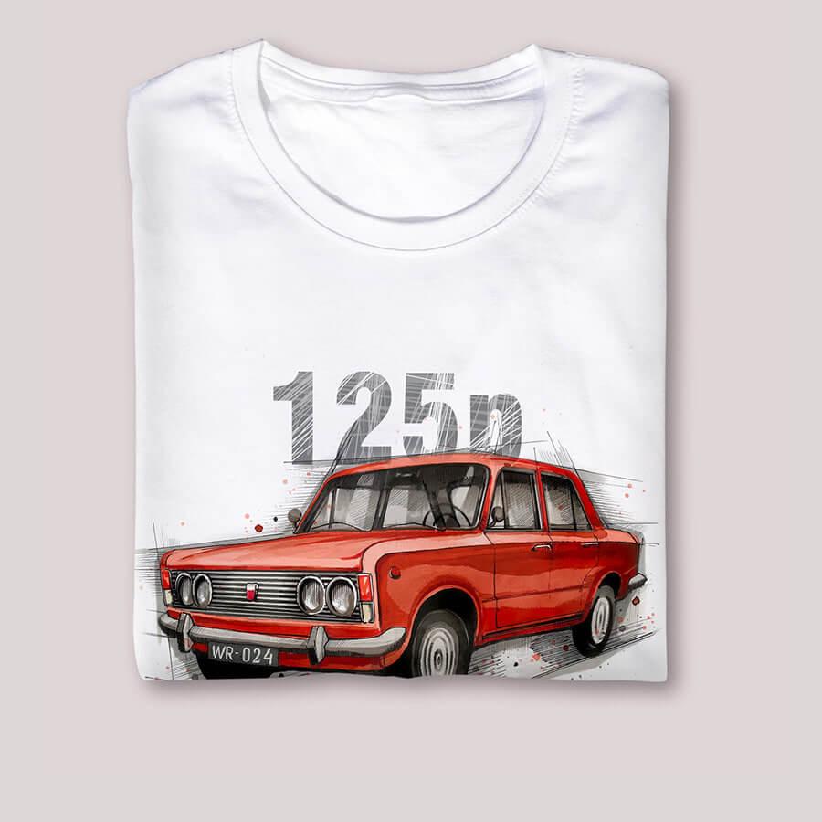 Koszulka FIAT 125P Nikiniki